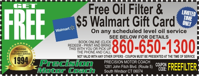 Cheap Oil Change South Windsor CT 06074 - Oil Change Coupon