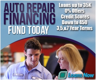 Auto repair financing - South Windsor CT - Get Interest Free financing